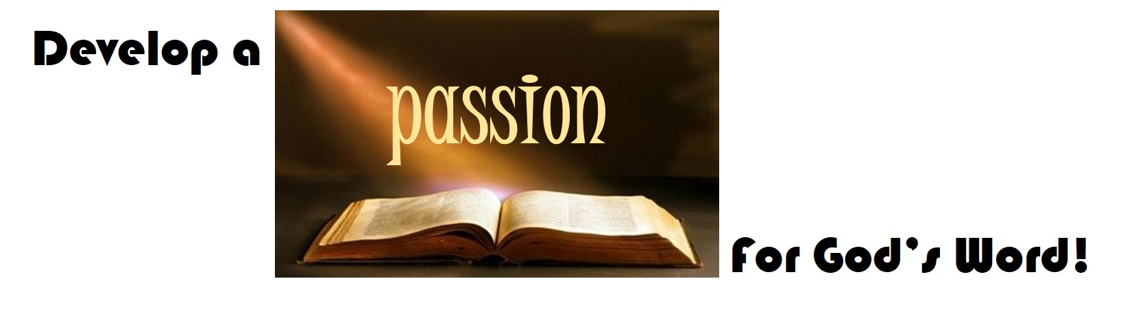Passion for Gods Word